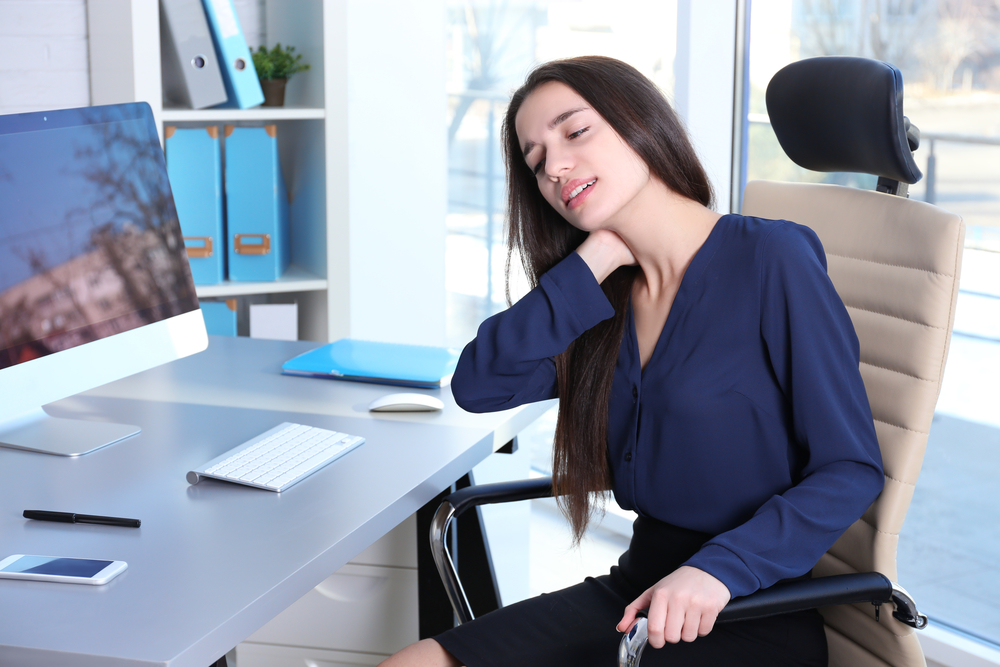 neck spine healthy workplace